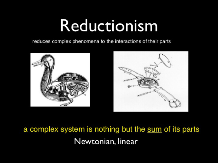Wholism Vs Reductionism Not Just A War Of Words Whole Food Plant